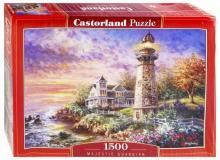 Puzzle-1500 Маяк на берегу (C-151790)