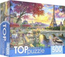 """TOPpuzzle-500 """"Париж на закате"""" (ХТП500-6825)"""
