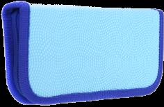 """Пенал """"Голубой"""" (1 отделение, без наполнения, ткань) (ПН-3586)"""