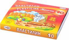 "Пластилин ""Мультики"", 10 цветов (280017)"