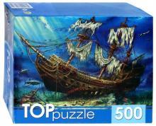 "TOPpuzzle-500 ""Затонувший корабль"" (ХТП500-4235)"