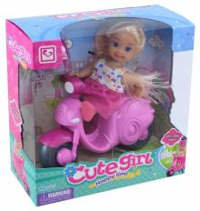 Кукла с мото, и аксессуарами в коробке (MX0111308)
