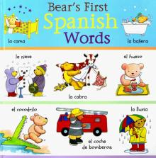 Bear's First Spanish Words - Clare Beaton