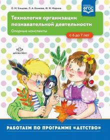 Технология организации познавательной деятельности. Опорные конспекты. С 6 до 7 лет. ФГОС - Ельцова, Есикова, Морина