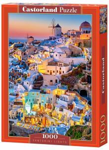 """Puzzle-1000 """"Огни Санторини"""" (C-103522)"""