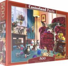 "Puzzle-500 ""Непослушные котята"" (B-53254)"