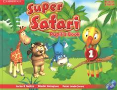 Super Safari 1. Pupil's Book + DVD-R