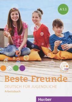 Beste Freunde. Deutsch fur jugendliche. A1.1. Arbeitsbuch (+CD)