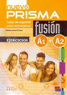 Nuevo Prisma Fusion. Niveles A1 + A2. Libro de ejercicios (+CD)