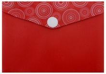 Папка для карт и визиток (красная) (46714)