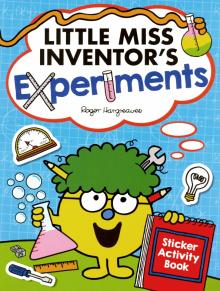 Little Miss Inventor's Experiments. Sticker Activity Book - Roger Hargreaves