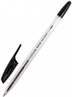 """Ручка шариковая """"Brauberg X-333"""", черная (142406)"""