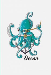 """Блокнот """"Ocean. Скетчи Лизы Красновой"""" (32 листа, линейка)"""