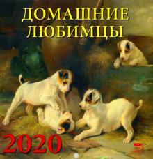"""Календарь 2020 """"Домашние любимцы"""" (30012)"""