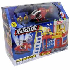 Teamsters. Машинки, треки, гаражи