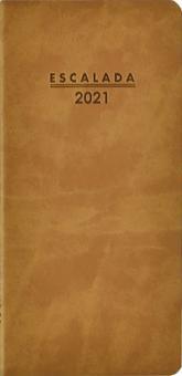 """Еженедельник датированный на 2021 год """"Софт-тач, коричневый"""" (64 листа, 80x165 мм, линия) (52357)"""