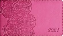 """Еженедельник датированный на 2021 год """"Виннер, малиновый"""" (64 листа, 150х87 мм, линия) (52847)"""