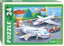 """Maxi Puzzle-24 """"Аэропорт"""" (ПУ24-7287)"""