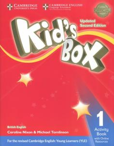 Kid's Box Upd 2Ed AB 1 +Online Res