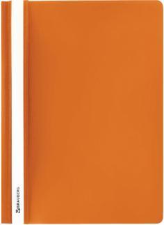 Папка-скоросшиватель Brauberg, А4, оранжевый (228673)