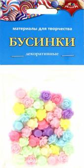 """Декоративные бусинки """"Розочки"""" (С3570-02)"""