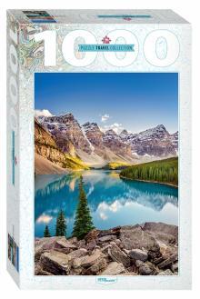 """Step Puzzle-1000  """"Озеро в горах"""" (79120)"""