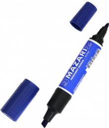 Маркер перманентный двусторонний TECHNIC синий (M-5041-70)