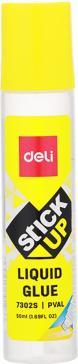 "Клей жидкий ""Deli"" 50 мл., прозрачный (E7302S)"