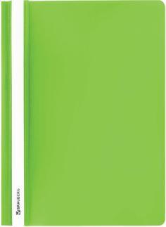 Папка-скоросшиватель Brauberg, А4, салатовый (228674)