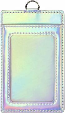 """Чехол для пластиковых карт """"Голографик. Голубой"""" (48424)"""
