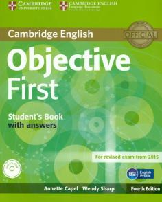 Objective First 4 Edition  Student's Book with answers + CD-ROM
