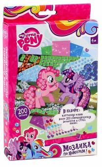 """My Little Pony. Мозаика самоклеящаяся по номерам (02272 ..."