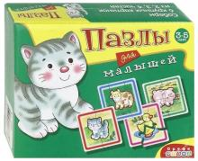 Пазлы для малышей. 6 домашних животных (2585)