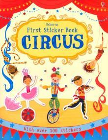 First Sticker Book. Circus