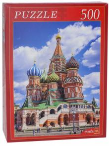 Пазл-500 Собор Василия Блаженного (в) (ГИ500-8283)