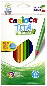 """Набор пластиковых карандашей """"Tita"""" (12 цветов) (42786)"""