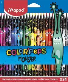 Карандаши 24 цвета COLOR
