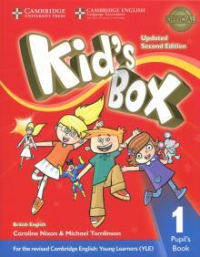 Kid's Box Upd 2Ed PB 1 - Nixon, Tomlinson