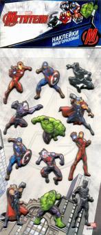 Набор многоразовых наклеек Мстители