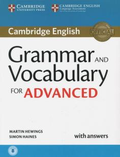 Grammar and Vocabulary for Advanced Book with Answers and Audio Self-Study Grammar Reference