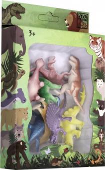 Набор Фигурки зверей В Мире Животных (71006)