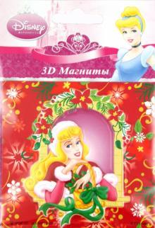 """3D магнит """"Принцессы"""" зимний (320006)"""