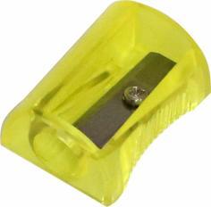 Точилка ручная, 1 отверстие, пластик, ассортимент (EH032)