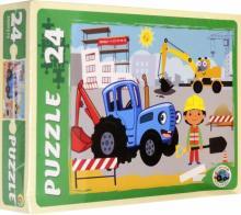 "MAXI Puzzle-24 ""Синий трактор №6"" (ПУ24-1776)"