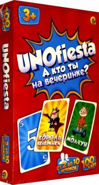 """Настольная игра """"Унофиеста"""" (UNOfiesta) (ИН-6336)"""