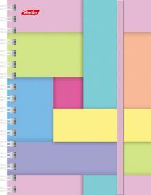 """Записная книжка """"Multicolor"""", А6, клетка, 120 листов, в ассортименте (Multicolor,120ЗК6Вр1гр)"""