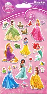 """Набор зефирных наклеек """"Принцессы Disney"""""""