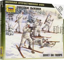 """Сборная модель """"Советские лыжники"""" (6199)"""