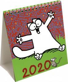 """Настольный календарь на 2020 год """"Кот Саймона"""", на пружине"""