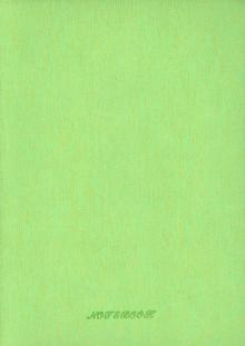 Ежедневник недатированный (160 листов, зеленый) А5- (761105)